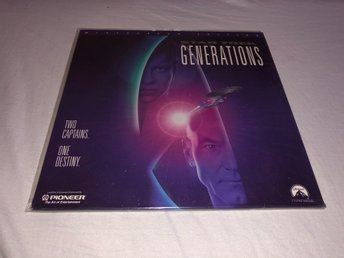 Star Trek Generations THX AC-3 - Widescreen edition - 2st Laserdisc