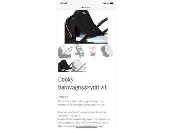 Dooky barnvagnsskydd svart (341276434) ᐈ Köp på Tradera dabb22790a46c