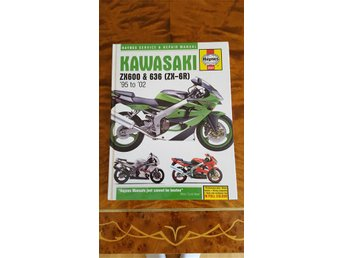 Haynes reparationssats manual kawasaki zx600 & 636 '95-'02