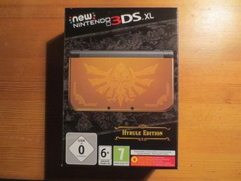 Nintendo New 3DS XL Hyrule Edition NY !