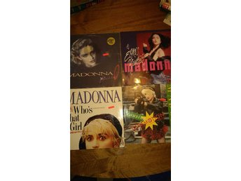 MADONNA MAXI Vinyl 4st Who's that girl + Live to tell + Commotion mm