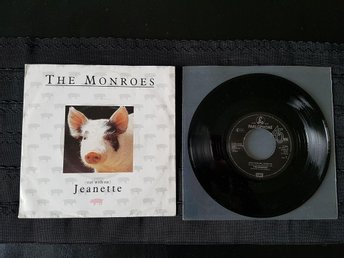 "The Monroes - (Stay with me) Jeanette 7"" vinylsingel Norsk rock"