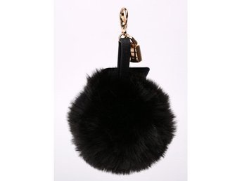 Hpi Of Sweden Handbag Decoration Fake Fur Black