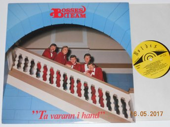 BOSSES TEAM - Ta varann i hand, LP Roldex 1982 Alf Robertson/Elvis covers
