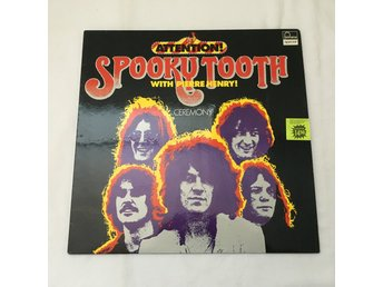 SPOOKY TOOTH WITH PIERRE HENRY Attention! LP GER 1969