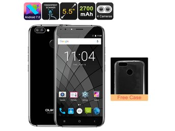 Android Phone Oukitel U22 - Quad-Core CPU, 2GB RAM, Dual-Rear Cam, Android 7.0,
