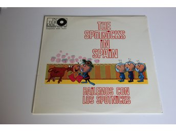 The Spotnicks ‎– The Spotnicks In Spain (Bailemos Con Los Spotnicks)