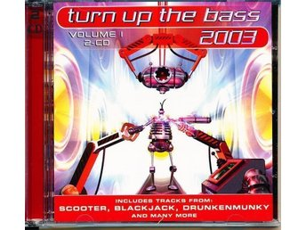 Turn Up The Bass vol 1 - Dubbel CD