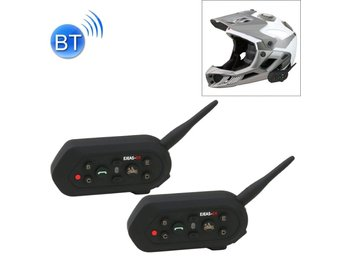 Motorcykel Bluetooth Intercom - 2Pack
