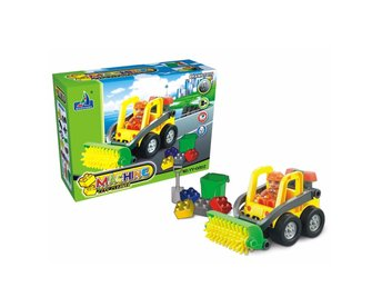 Maskinstädare City Cleaner Brain Toys Vehicles Bilar likt LEGO Leksaker - YY0802