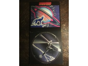 JEFFERSON STARSHIP - 2 UK Pressar! Dragon Fly + Winds Of Change. Orig Inners!