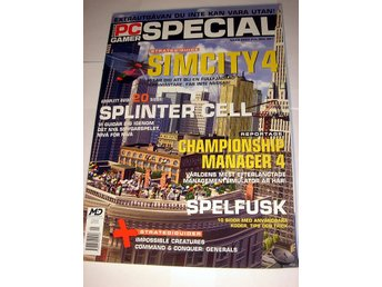 PC GAMER SPECIAL  MARS 2003  HELT NY   SIMCITY 4  mm.