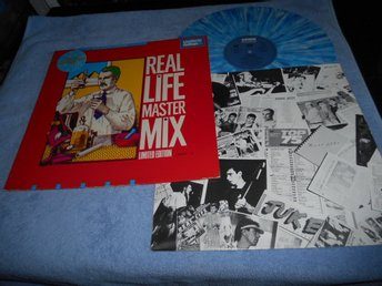 Real Life Master Mix Lim Ed (12a) Blå vinyl NM