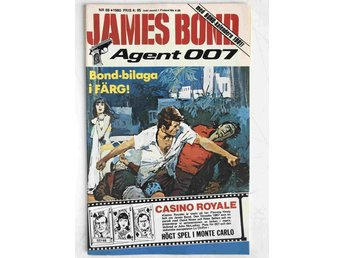 James Bond - Löpnr: 68 VF  med Bondkalender