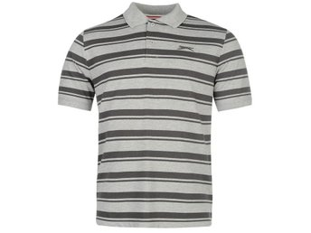 SLAZENGER  STRIPE GOLF PIKE 3GREY  XL