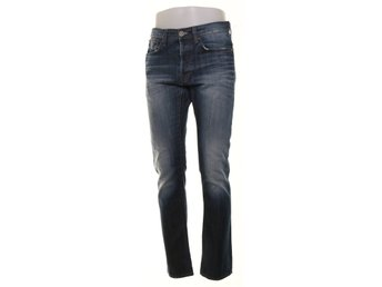 G-Star Raw, Jeans, Strl: 32/34, 3301 Slim, Blå
