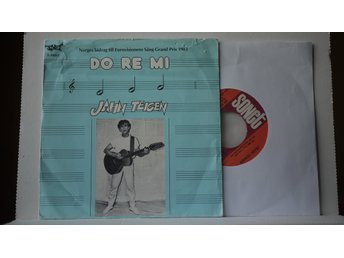 "Jahn Teigen - Do Re Mi      7""   ESC   Mello   Norge"