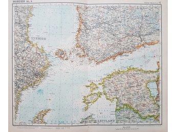 Karta Over Spaniens Vastkust.Antik Karta Over Spanien Mallorca Och Portugal 344670620 ᐈ Kop