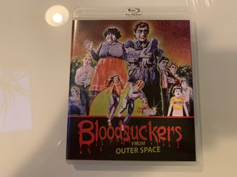 Bloodsuckers from outer Space (Vinegar Syndrome, US Import, Regionsfri)