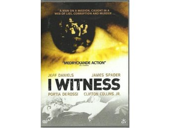 I WITNESS   (SVENSK TEXT)