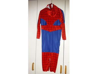 Spiderman dress med luva