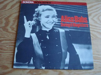 LP. Alice Babs. Swingit magistern