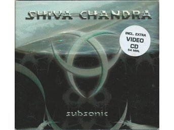 Shiva Chandra ?– Subsonic -DIGIPACK !  CD + VCD
