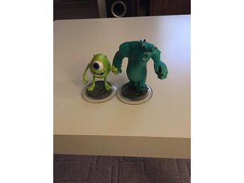 Disney infinity Monsters university figurer
