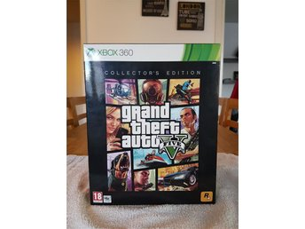 Grand Theft Auto (GTA) V Xbox 360 Collectors edition Nytt