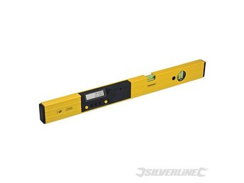 Digital 600mm Long Spirit Level Digi Angle Finder Tool For Roofer Fitter