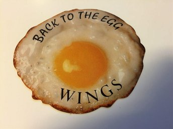 WINGS - PROMO STICKER FOR BACK TO THE EGG