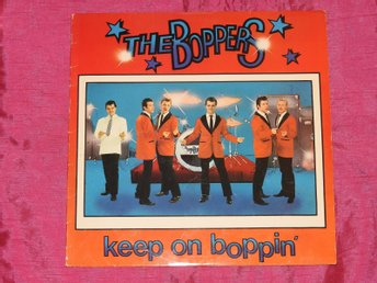 THE BOPPERS - KEEP ON BOPPIN - 13 LÅTARS LP - 1979