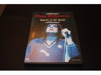 Dvd-film: Ozzy Osbourne band - Speak of the devil