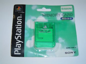 1MB Original Minneskort Sony Playstation *NYTT*