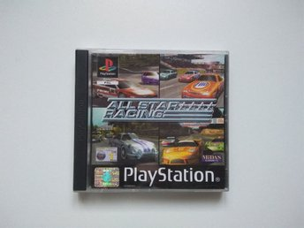 All Star Racing : PS1 Spel , Playstation One.
