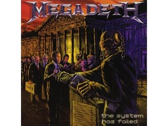 Megadeth: The system has failed 2004 (CD)