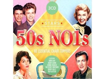 50's Number 1's / 60 Essential Chart Toppers (3 CD)