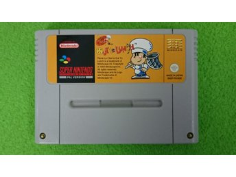 Chef is Out To Lunch Super Nintendo Snes