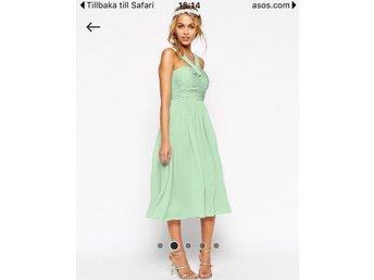 5330a8d2197c Mintgrön klänning från ASOS (350210407) ᐈ Köp på Tradera
