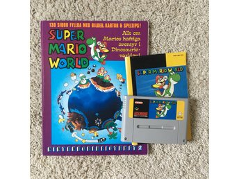 SUPER MARIO WORLD + GUIDE OCH BOOKLET - SNES/PAL