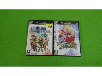 Final Fantasy Crystal Chronicles & Tales of Symphonia KOMPLETT Gamecube Nintendo