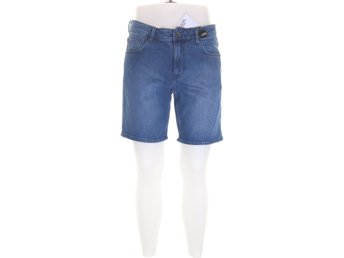 Visual Clothing Project, Jeansshorts, Strl: 32, Blå