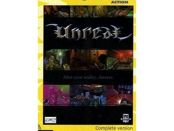 UNREAL Alter your reality... / KLASSISKT PCspel NY JULKLAPP