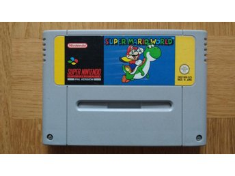 Super Nintendo/SNES: Super Mario World (svensksålt/SCN)