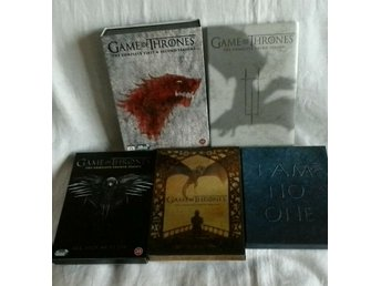 6säsonger Game of Thrones, dvd