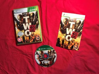 ARMY OF TWO THE 40TH DAY XBOX 360 BRA SKICK