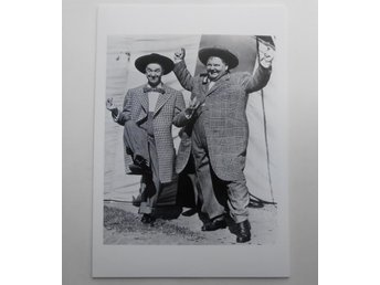 LAUREL AND HARDY (Helan och Halvan) - 'Jitterbugs', 1943 - *A4*-print NME!