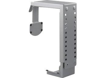 DELTACO datorhållare i stål för montering under bord/vägg,si - Norsborg - DELTACO datorhållare i stål för montering under bord/vägg,si - Norsborg