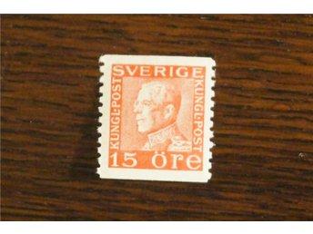 F 177 c2 *.Gustaf V profil vänster.15 öre röd typ II Kv100:- - Göteborg - F 177 c2 *.Gustaf V profil vänster.15 öre röd typ II Kv100:- - Göteborg