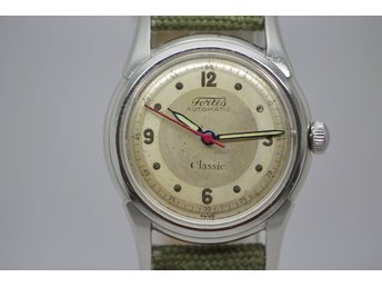 SUPER FIN VINTAGE UR  FORTIS CLASEEIC BUMPER AUTOMATIC